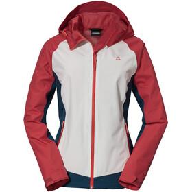 Schöffel Wamberg Jacket Women, rojo/blanco